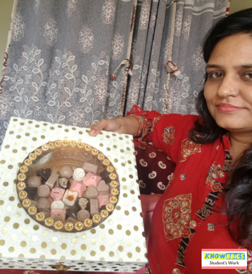 Chocolate making online course. How to start Chocolate making business at Home? Get started with easy chocolate making video course with lifetime video access and chat support. Chocolate business Course. Online courses in India.